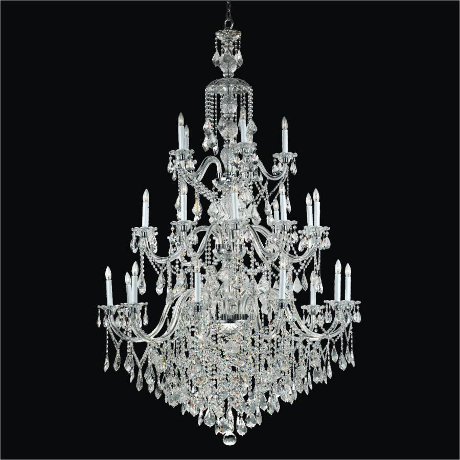 Grand Foyer Chandelier | Dynasty 557 by GLOW Lighting