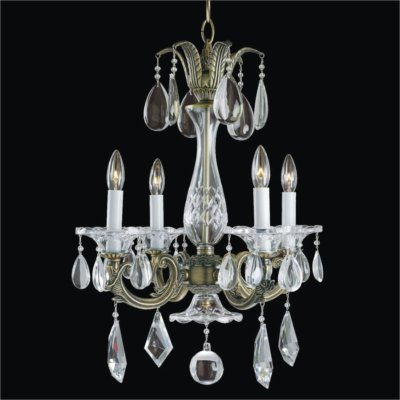4 Light Crystal Chandelier | English Manor 546M