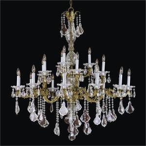 Entrance Chandelier | English Manor 546A by GLOW Lighting