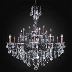 Large Entryway Chandelier | English Manor 546M by GLOW Lighting