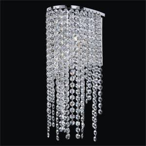 Crystal Sconce Light | Ensconced 611 by GLOW Lighting
