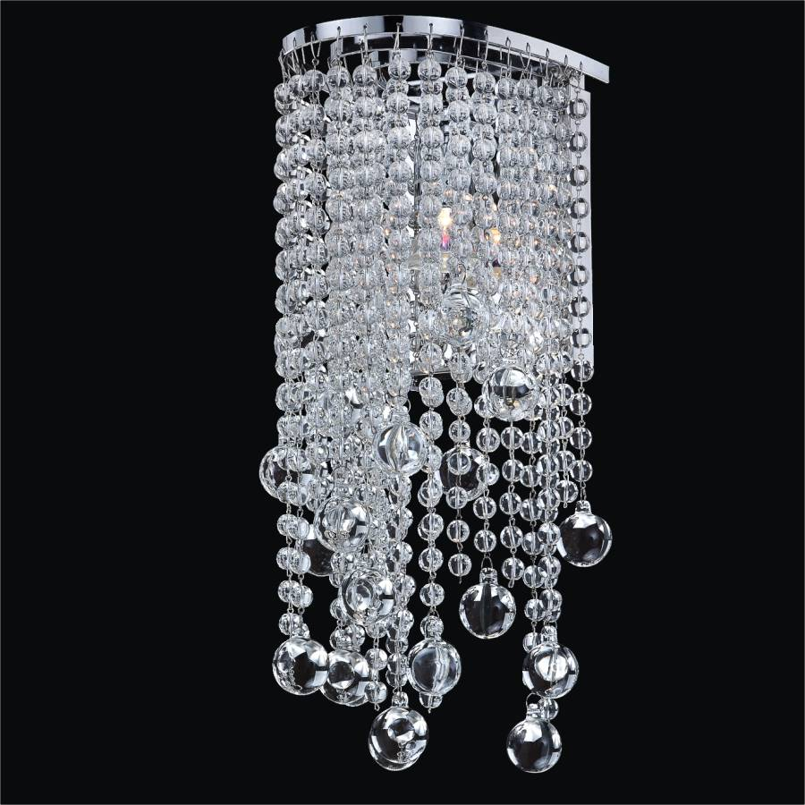 Beaded Sconce | Ensconced 611 by GLOW Lighting