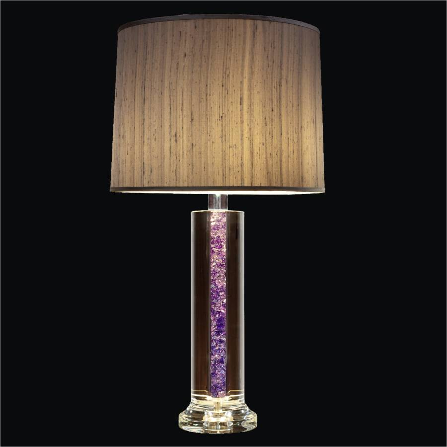 Modern Crystal Table Lamp | Glow Elegance 3902 by GLOW Lighting