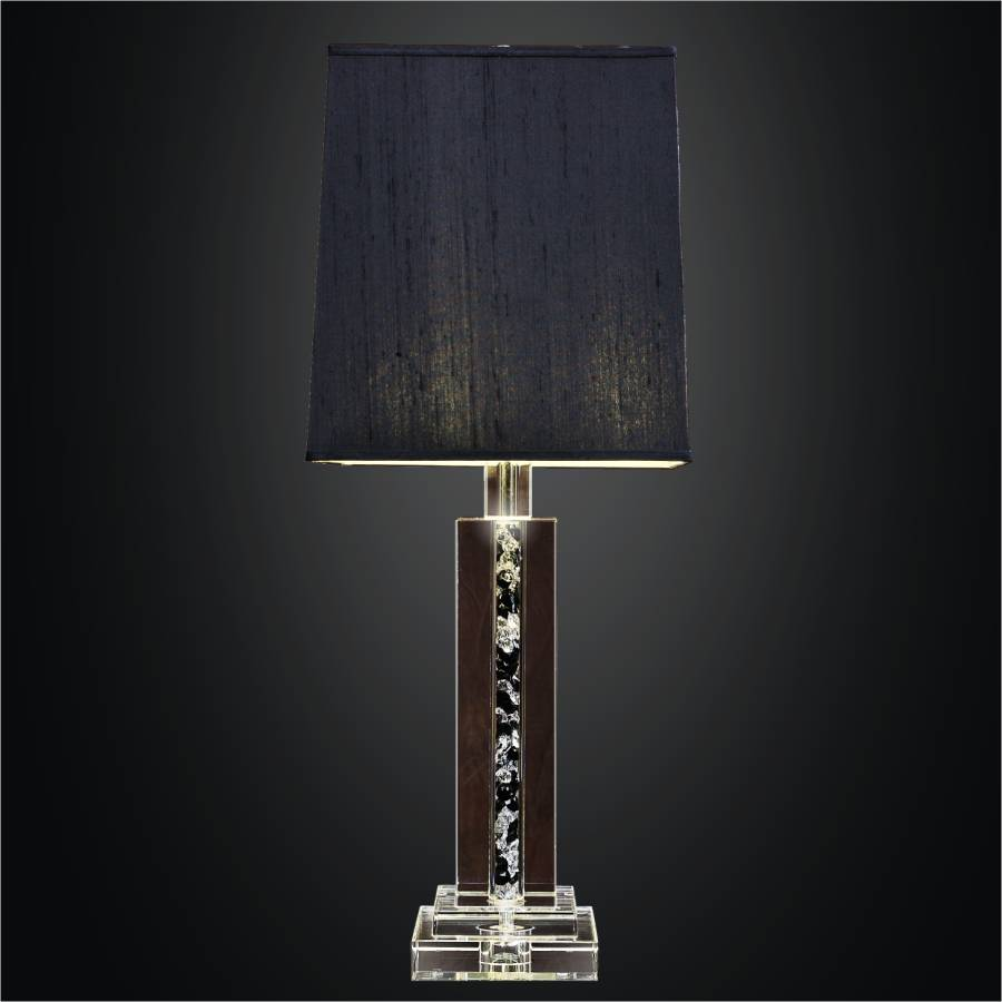 Square Crystal Table Lamp | Glow Elegance 3903 by GLOW Lighting