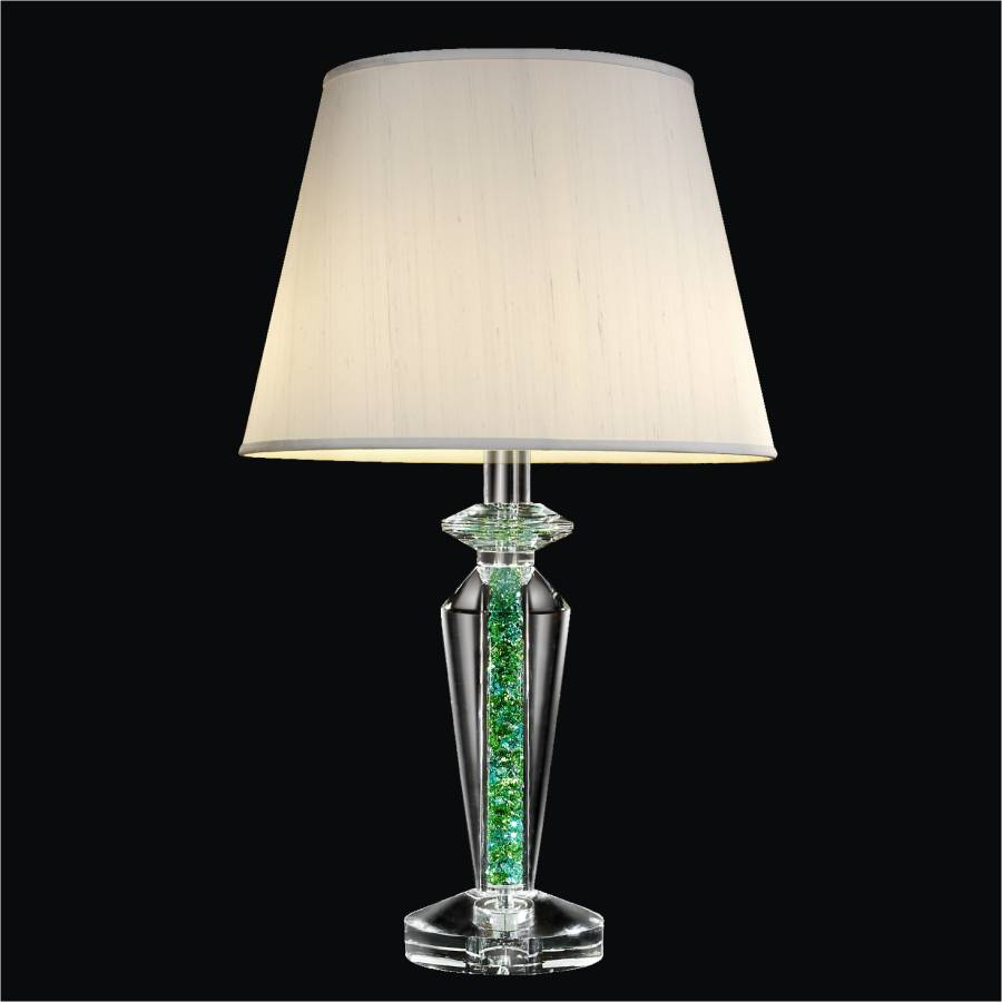 Small Crystal Table Lamp | Glow Elegance 3912 by GLOW Lighting