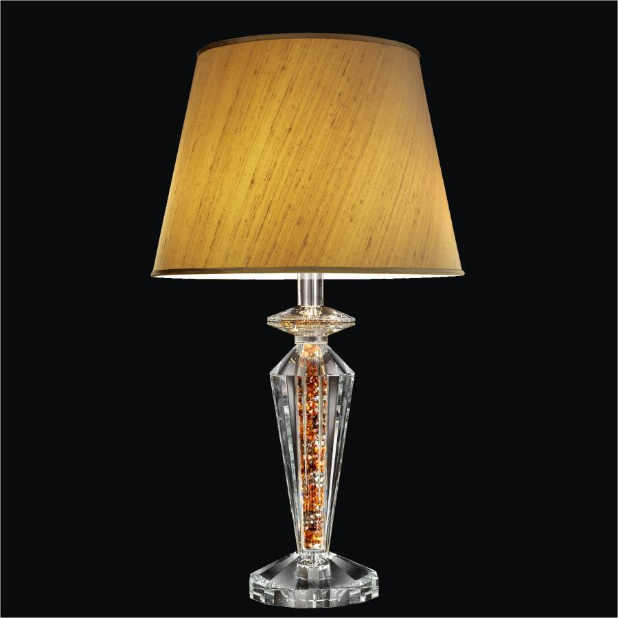 Crystal Bedroom Lamp | Glow Elegance 3913 by GLOW Lighting