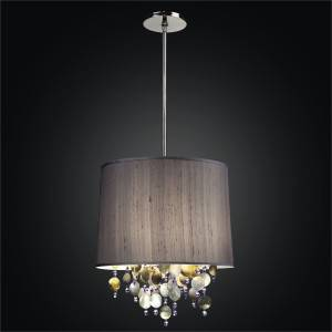 Drum Pendant Chandelier | Illusions 902 by GLOW Lighting
