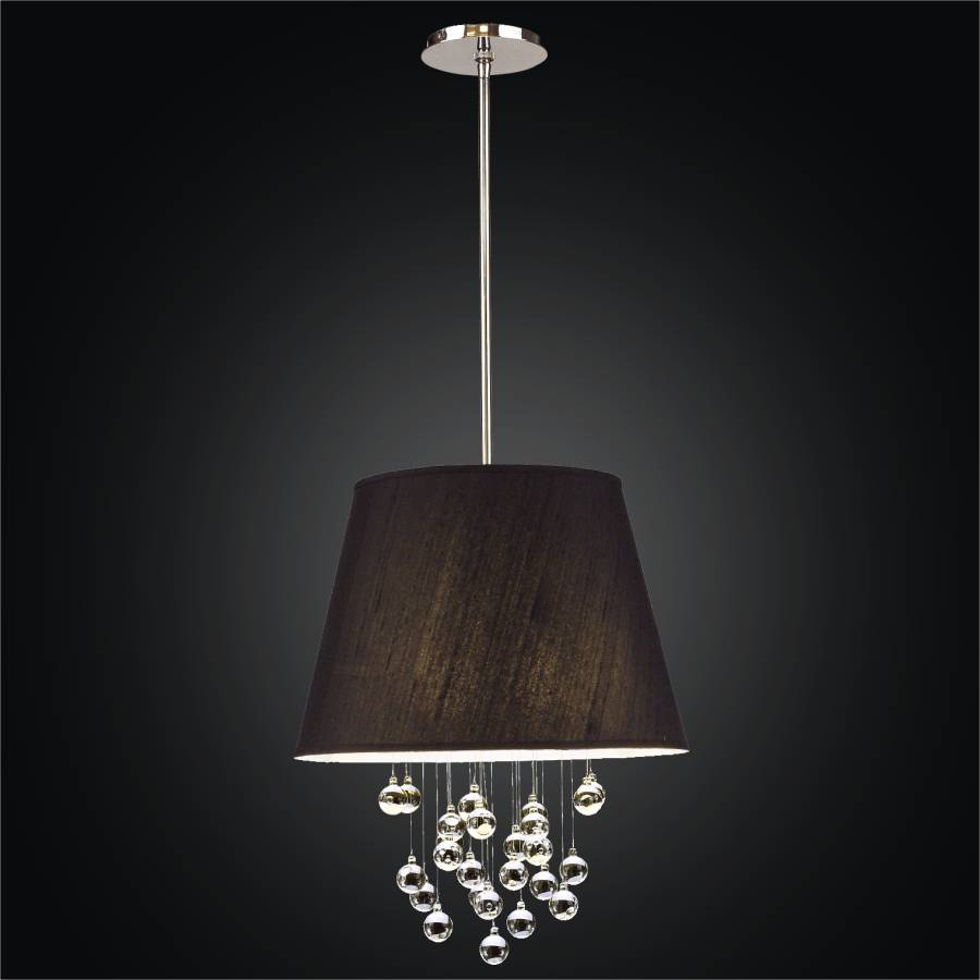 Silk Shade Pendant Light | Illusions 909 by GLOW Lighting