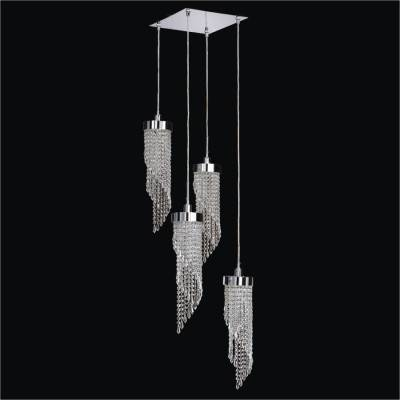 Twisted Strand Drop Chandelier | Intuition 609