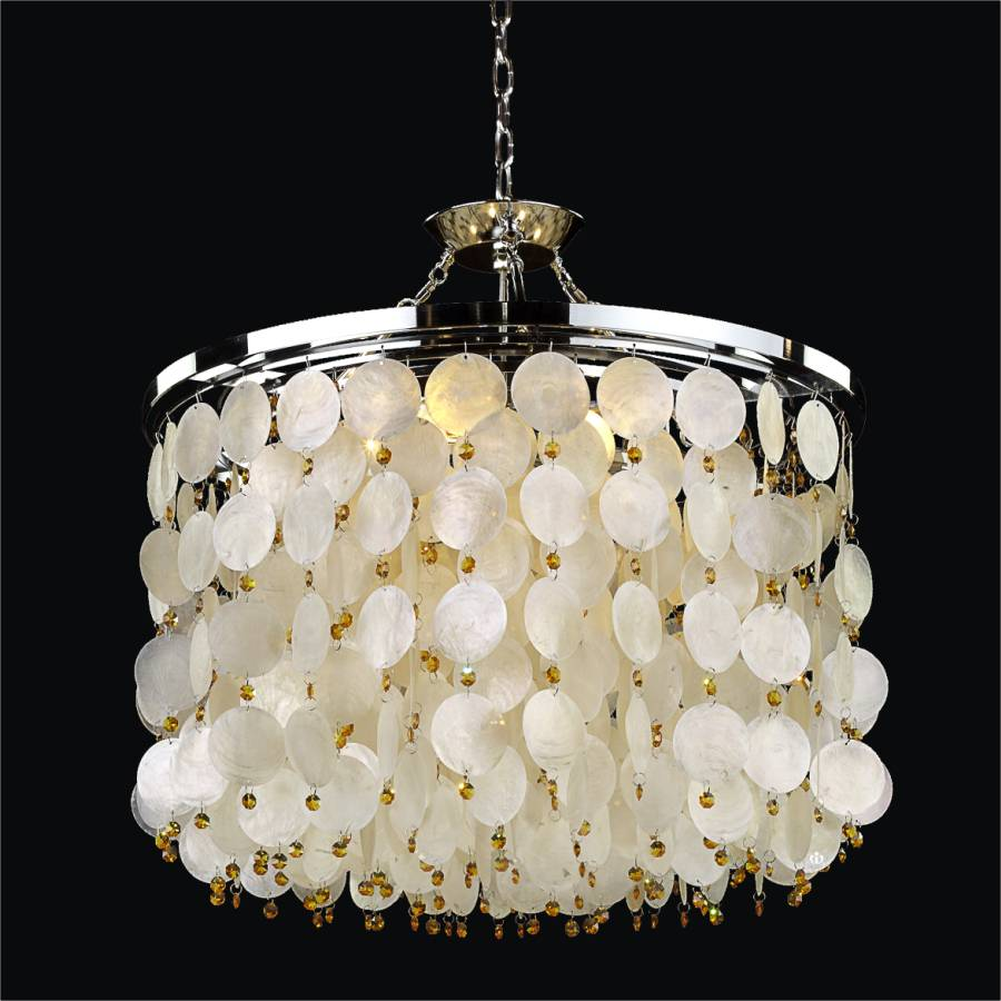 Capiz shell drum chandelier island paradise 587h glow lighting capiz shell drum chandelier island paradise 587hd26 24sp 9t aloadofball Image collections