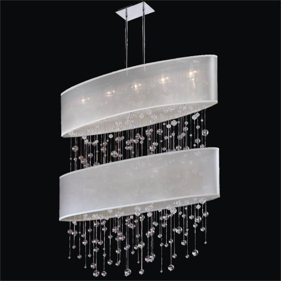 Bubble Chandelier – Double Shade Chandelier | Lifestyles 006R by GLOW Lighting