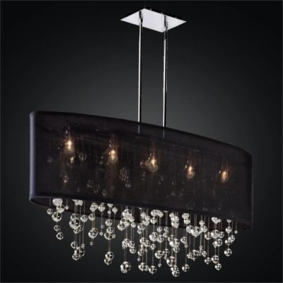 Glass Bubble Chandelier – Oval Shade Chandelier | Lifestyles 006