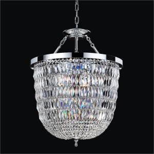 Pendalogue Chandelier to Flush Mounts | Lucia 607