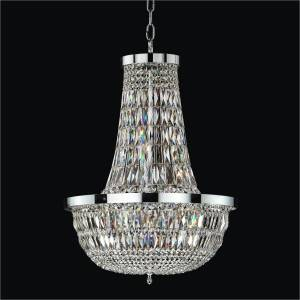 Modern Empire Chandelier | Lucia 607 by GLOW Lighting