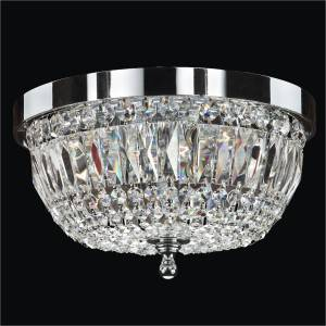 Crystal Flush Mount Ceiling Light | Lucia 607