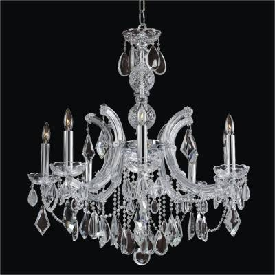 8 Light Maria Theresa Chandelier | Maria Theresa 561A