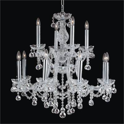 Maria Theresa Crystal Ball Chandelier | Maria Theresa 561F