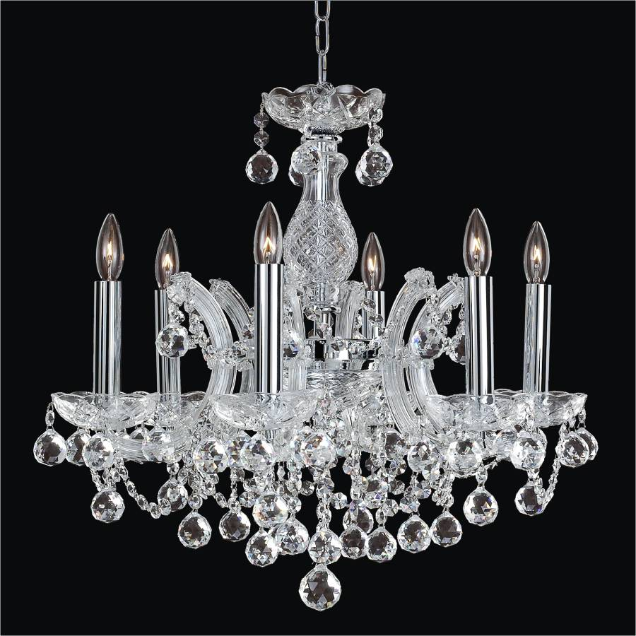 Maria Theresa Crystal Chandelier | Maria Theresa 561F by GLOW Lighting