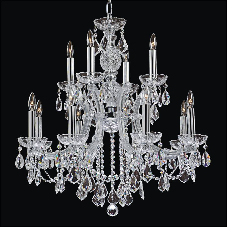 Maria theresa chandelier maria theresa 561l glow lighting - Lighting and chandeliers ...