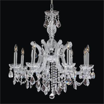 Maria Theresa 8 Light Crystal Chandelier | Maria Theresa 561L