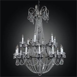 Rustic Iron Chandelier | Medieval Castle 547 by GLOW Lighting