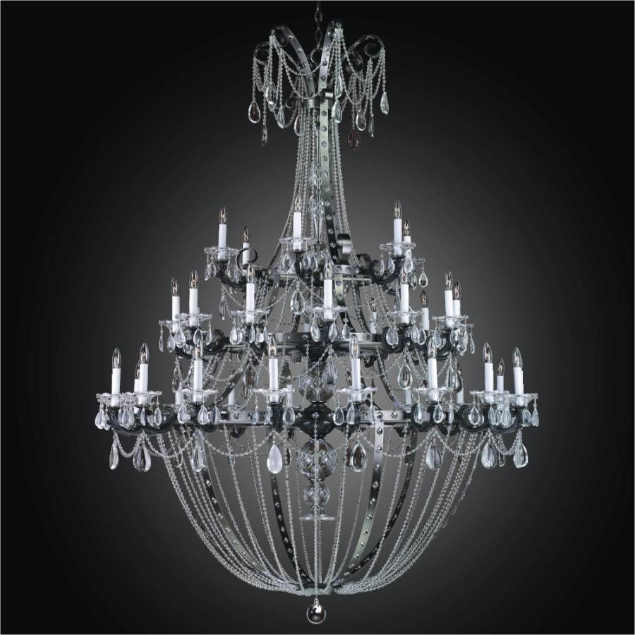 Large Rustic Chandelier | Medieval Castle 547 by GLOW Lighting