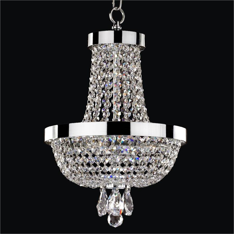 Small Empire Chandelier | Modern Time 603 by GLOW Lighting