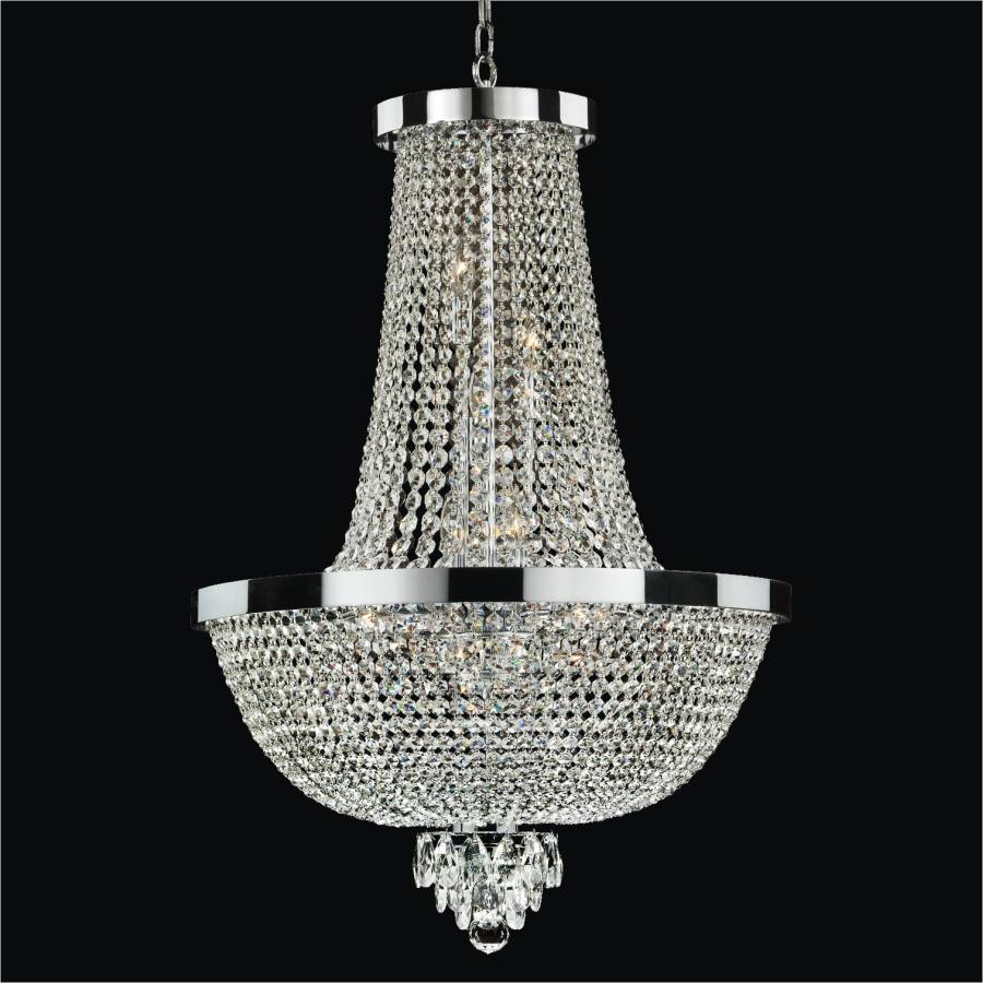 Modern Empire Chandelier | Modern Time 603AD23SP-7C