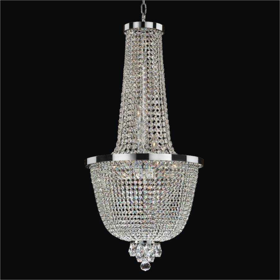 Large Crystal Chandelier | Modern Time 603 – GLOW® Lighting