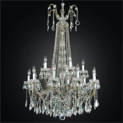 Staircase chandelier page 2 of 2 glow lighting wrought iron foyer chandeliers large crystal chandelier old world iron 543a aloadofball Image collections