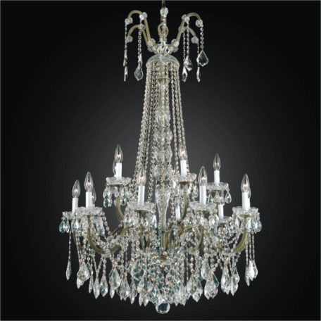 Wrought iron foyer chandeliers large crystal chandelier old world iron 543a by glow lighting
