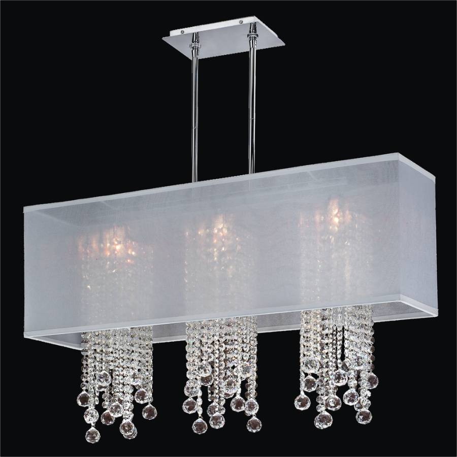 Crystal Pendant Chandelier | Omni 627F by GLOW Lighting