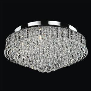 Crystal Ceiling Light | Prestige 604 by GLOW Lighting