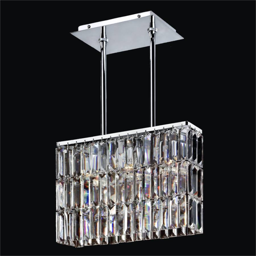 Rectangular Dining Chandelier | Reflections 600LM3LSP-3C