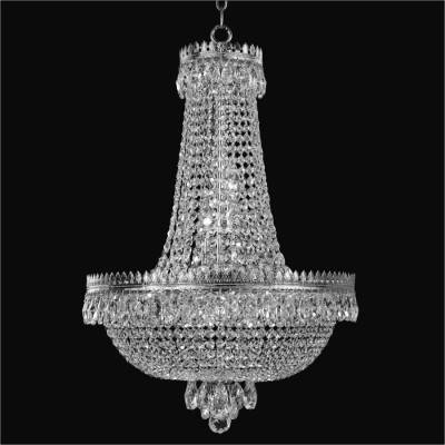 Crystal Basket Chandelier | Roman Empire 548