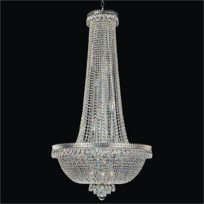 Crystal Foyer Chandelier | Roman Empire 548A