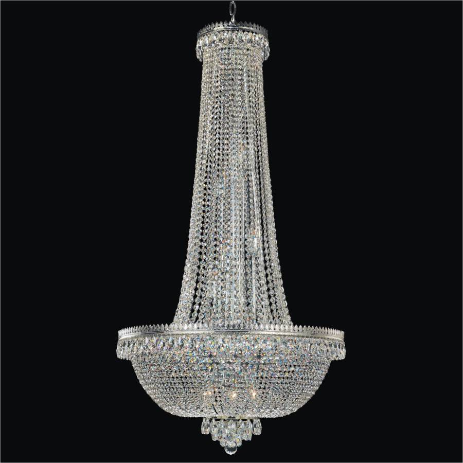 Crystal Foyer Chandelier Roman Empire 548a Glow 174 Lighting