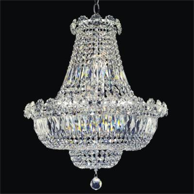 Rosette Embellished Empire Chandelier | Rosette Dreams 538