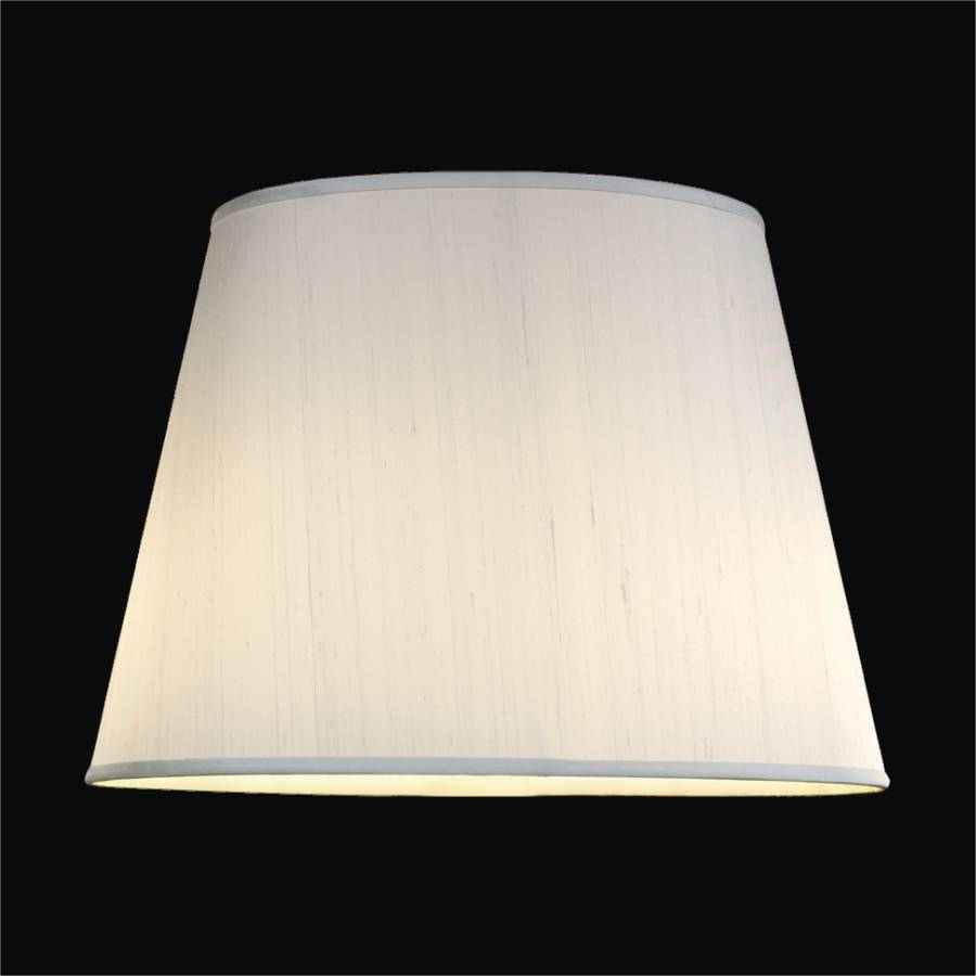 Small Tapered Round Lamp Silk Shade Glow Sh909ows