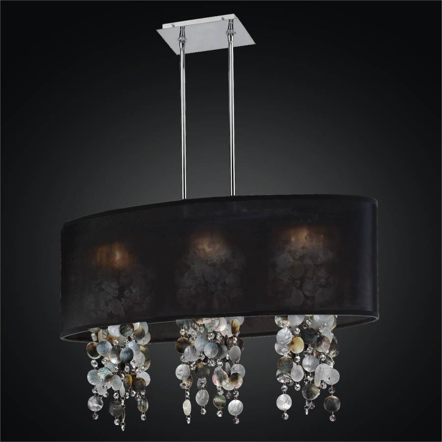 Mother of Pearl Shell Chandelier | Soho 626P by GLOW Lighting