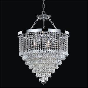 Hanging Crystal Chandelier | Spellbound 605 by GLOW Lighting
