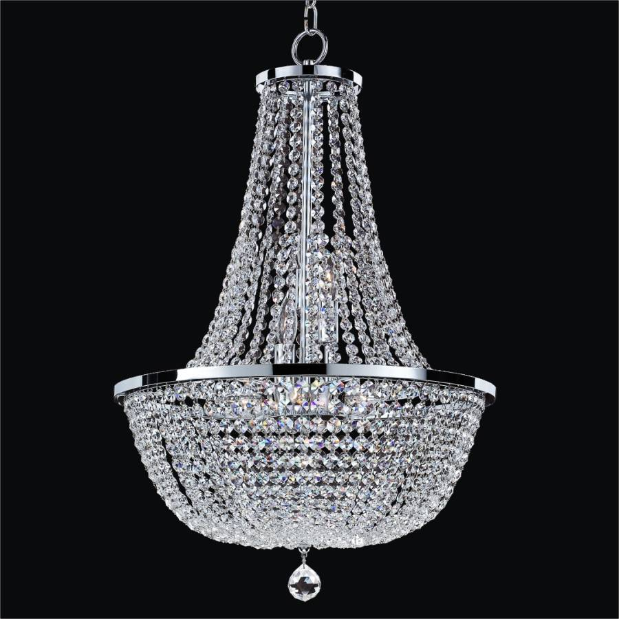 Crystal Empire Chandelier Synergy 630 GLOW Lighting