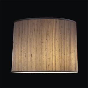 Tapered lamp silk shade by GLOW Lighting