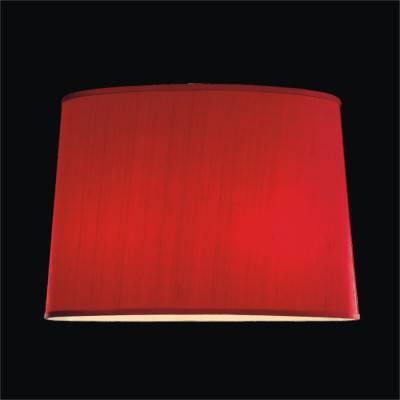 Tapered Oval Dupioni Silk Lamp Shades