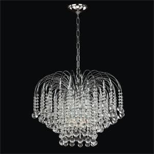 Cascading Crystal Chandelier | Trevi 610 by GLOW Lighting