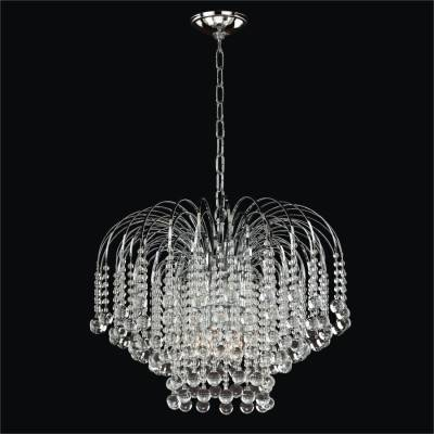 Waterfall Smooth Crystal Pendant | Trevi 610