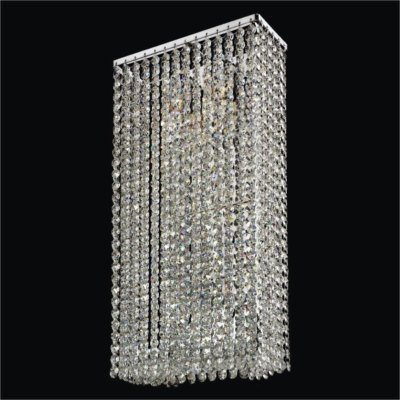 2-Light Crystal Wall Sconce |  Urban Chic 596