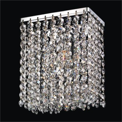 Contemporary Crystal Wall Sconce | Urban Chic 596