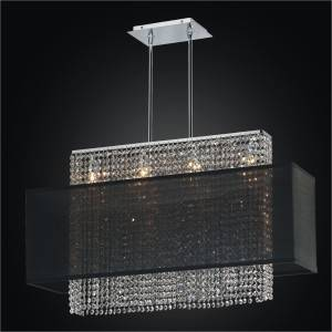 Rectangular Pendant Light | Urban Essentials 595 by GLOW Lighting