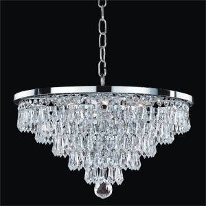 Teardrop Pendant Chandelier | Vista 628T by GLOW Lighting